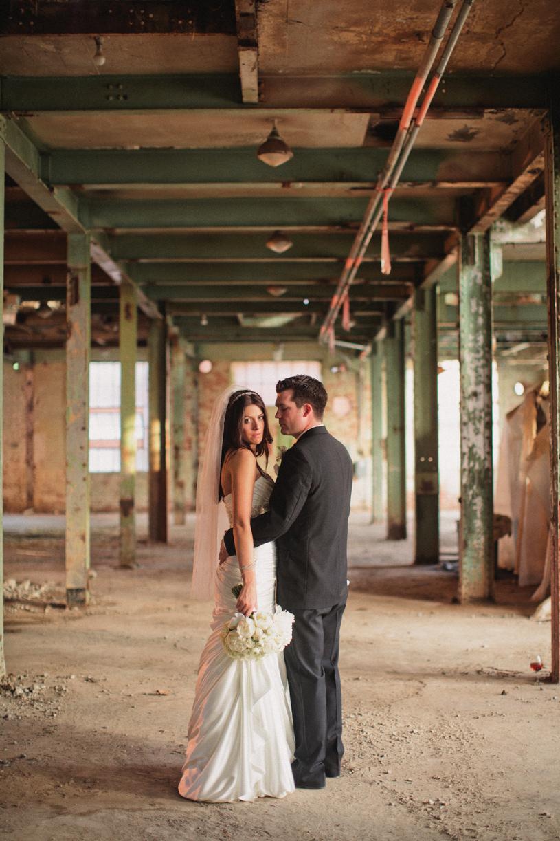 Fine art wedding portrait at the old sugar mill in clarksburg by heather elizabeth photography