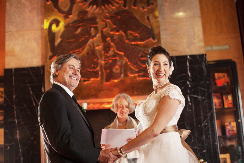 Wedding at the San Francisco City Club by Heather Elizabeth Photography