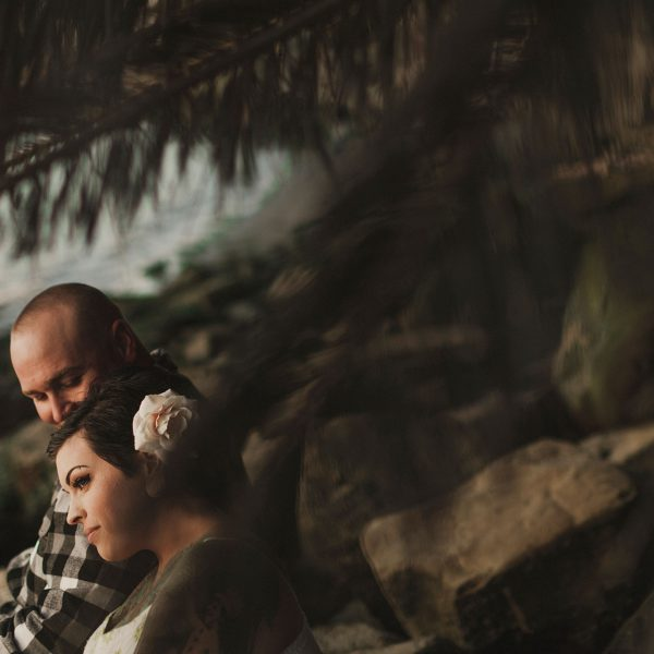 Intimate tattooed engagement in Benicia California by Heather Elizabeth Photography