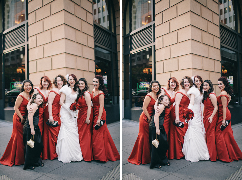 Winter Wedding at the Omni Hotel in San Francisco