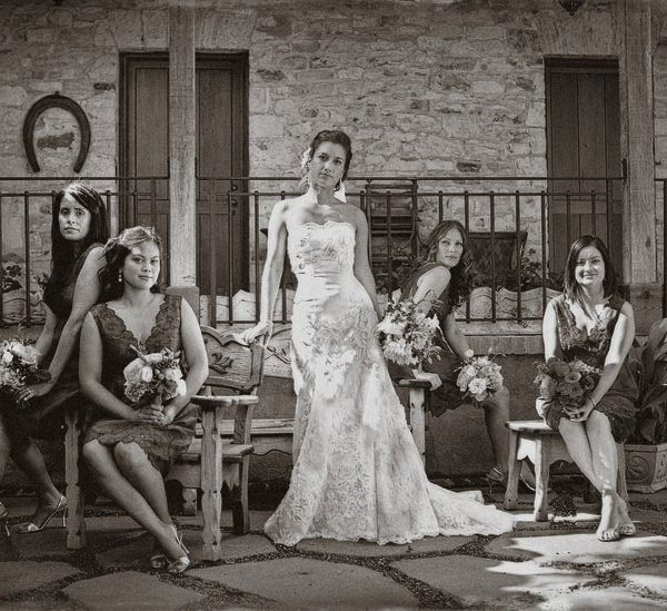 Christina & her ladies | Holman Ranch, Carmel Valley California Fine Art Wedding Photographer