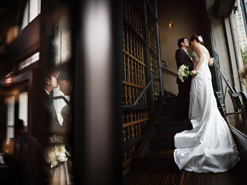 Creative wedding photography at the citizen hotel by kate miller events