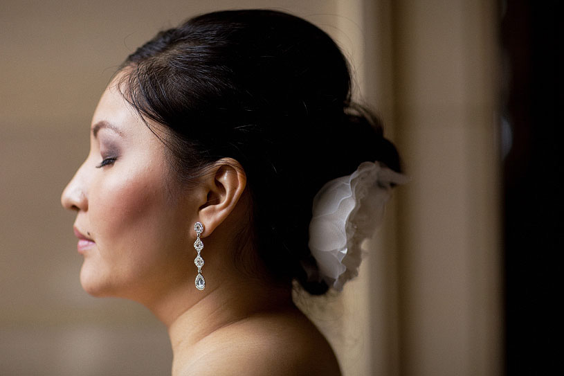 Fine Art Bridal image at the Citizen Hotel by Kate Miller Events
