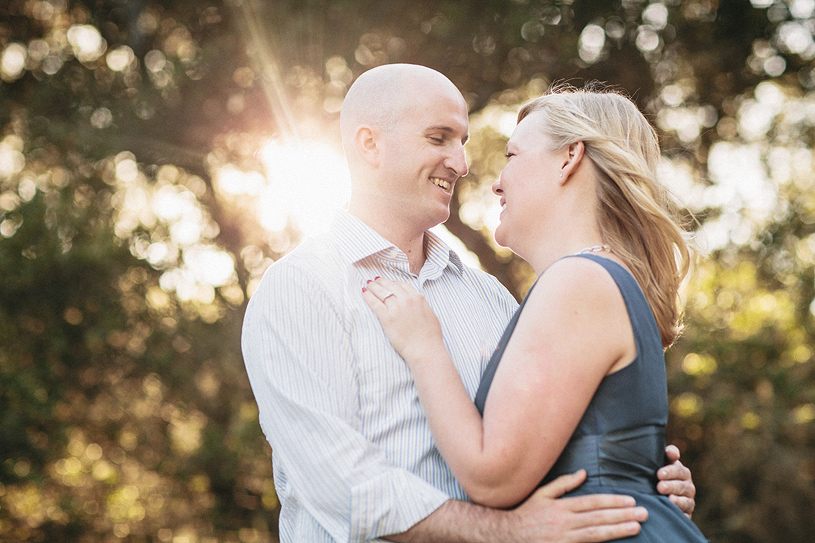 Tilden Park Romantic Engagement session