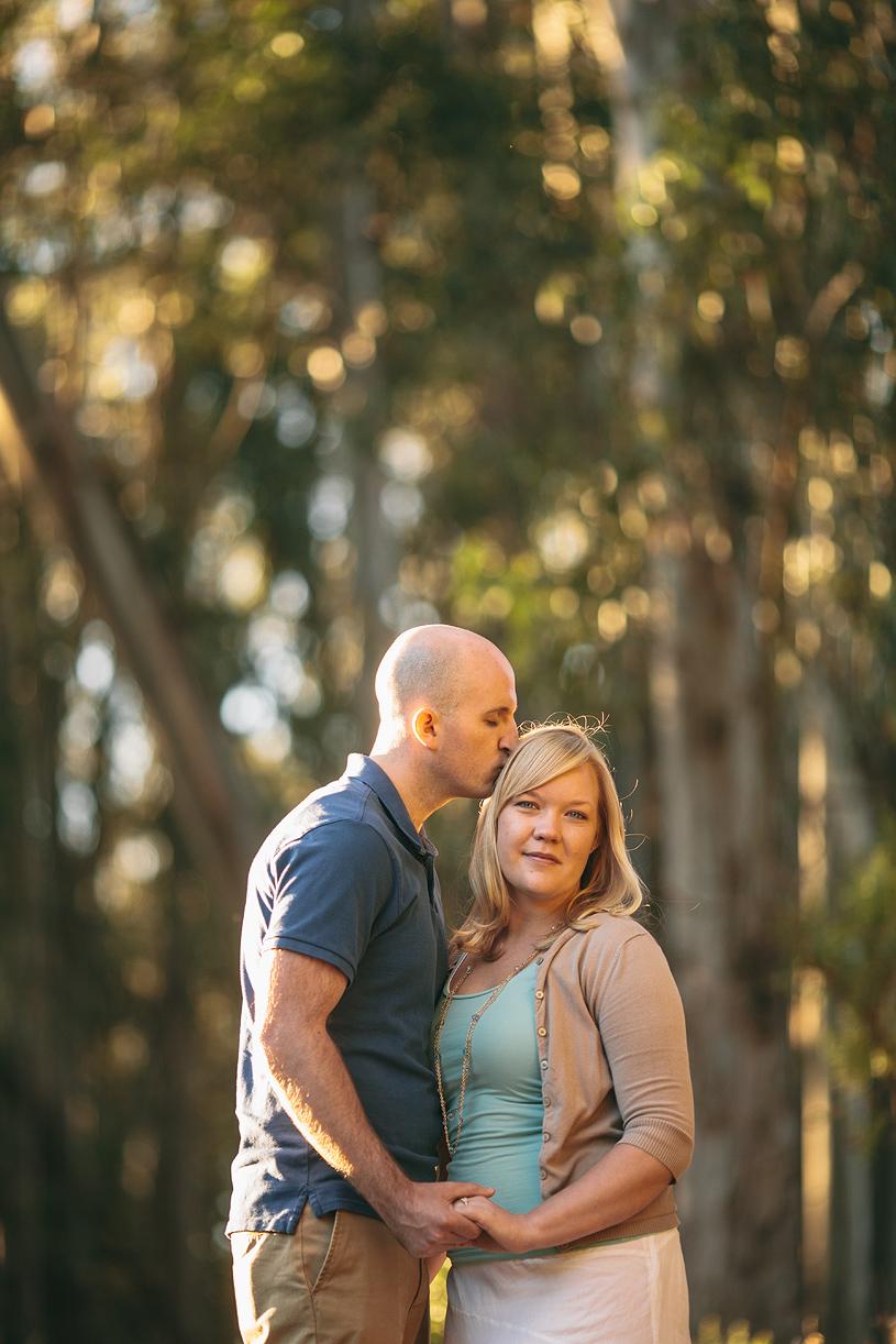 Romantic sunset Engagement session at Tilden Park