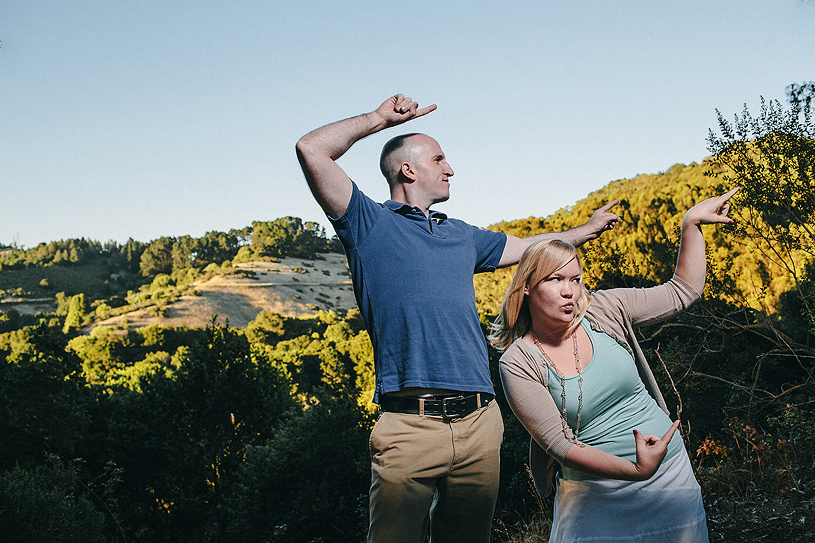 Ridiculous and silly engagement session
