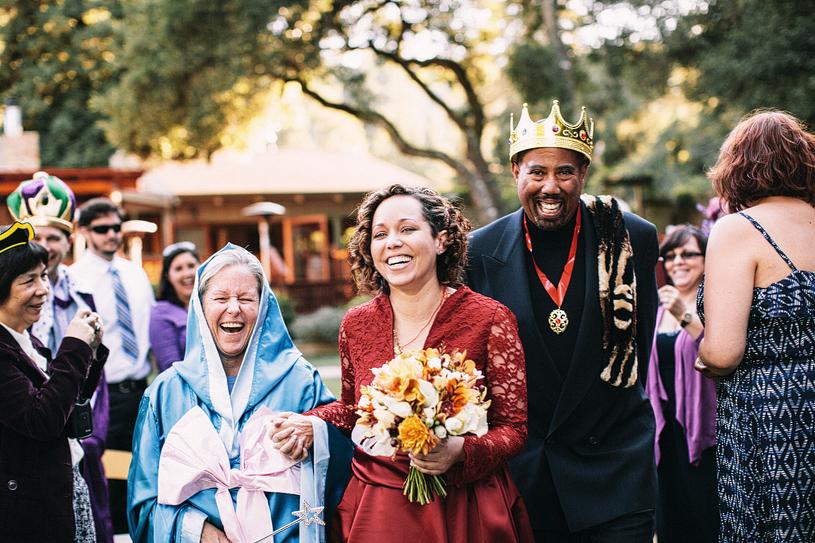 Princess Bride wedding at the Mountain Terrace