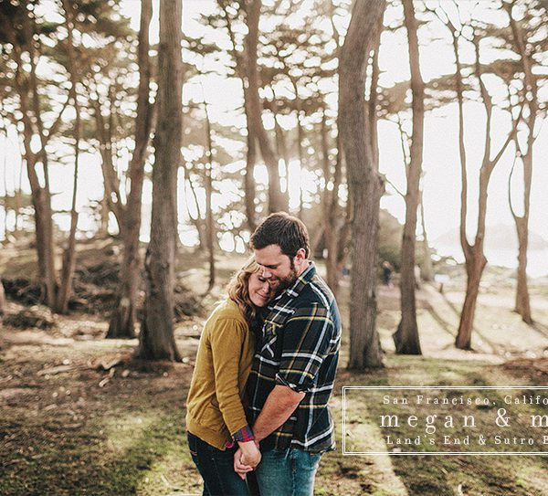Megan + Matt | Land's End San Francisco Engagement Session