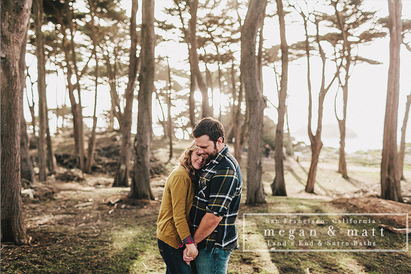 Land's End San Francisco Fine Art Engagement Session