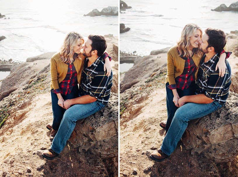 Beachside engagement Outdoor theme session
