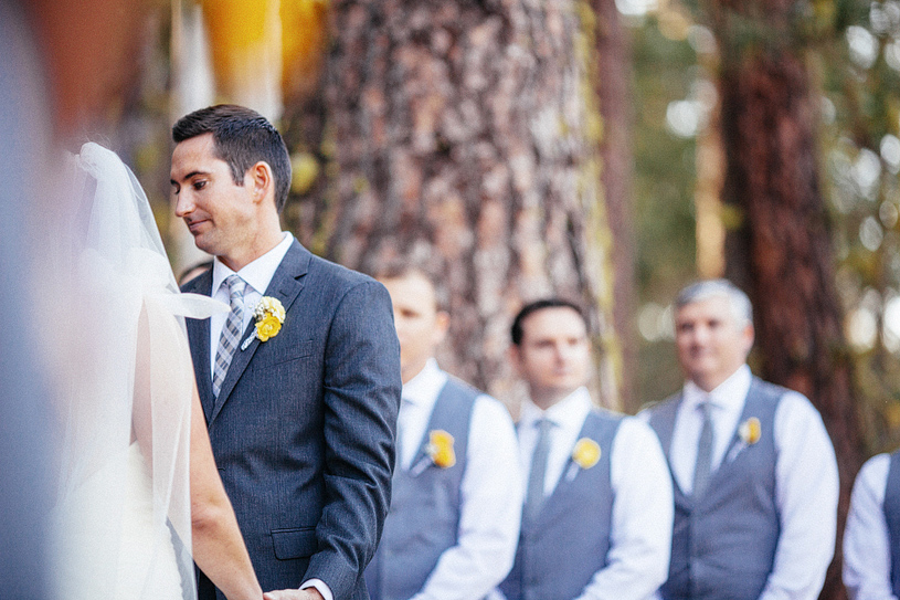 Woodland DIY wedding in Yosemite
