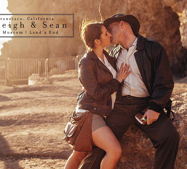 Ashleigh + Sean [ engagement ] Disney / Indiana Jones / UP! themed Engagement in San Francisco