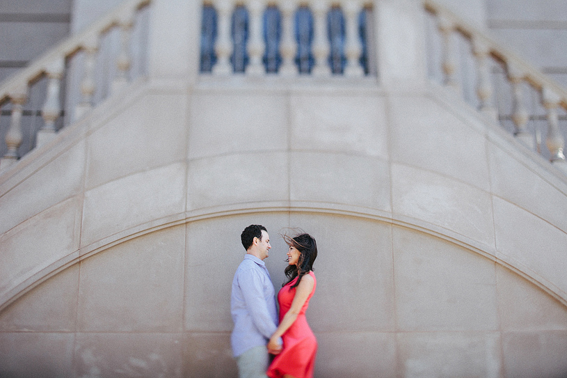Stylish Urban Chic Engagement session in San Francisco
