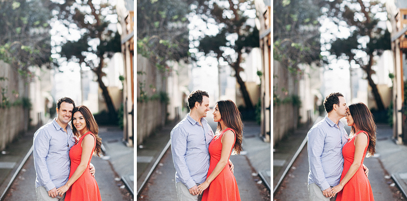 Urban San Francisco City Engagement session