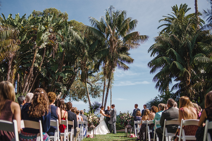 Wedding ceremony at the Four Seasons Santa Barbara