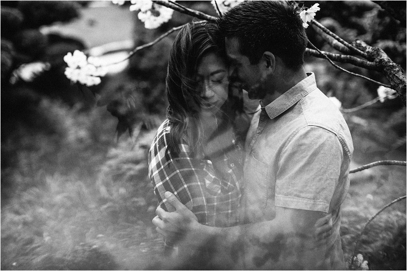 double exposure engagement photography