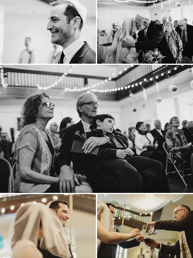 Emotional Jewish wedding ceremony