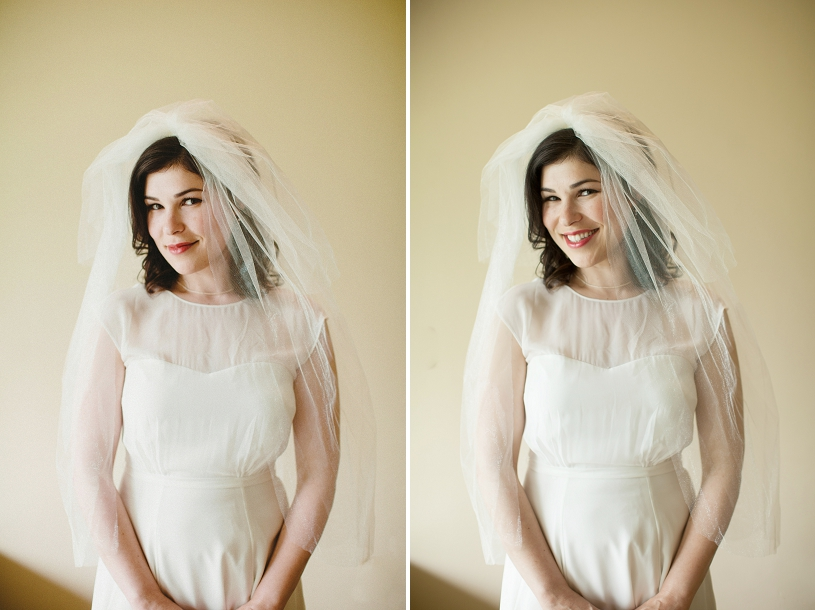 Modcloth wedding gown