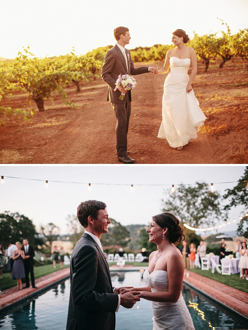 Private estate wedding in Healdsburg by Heather Elizabeth Photography