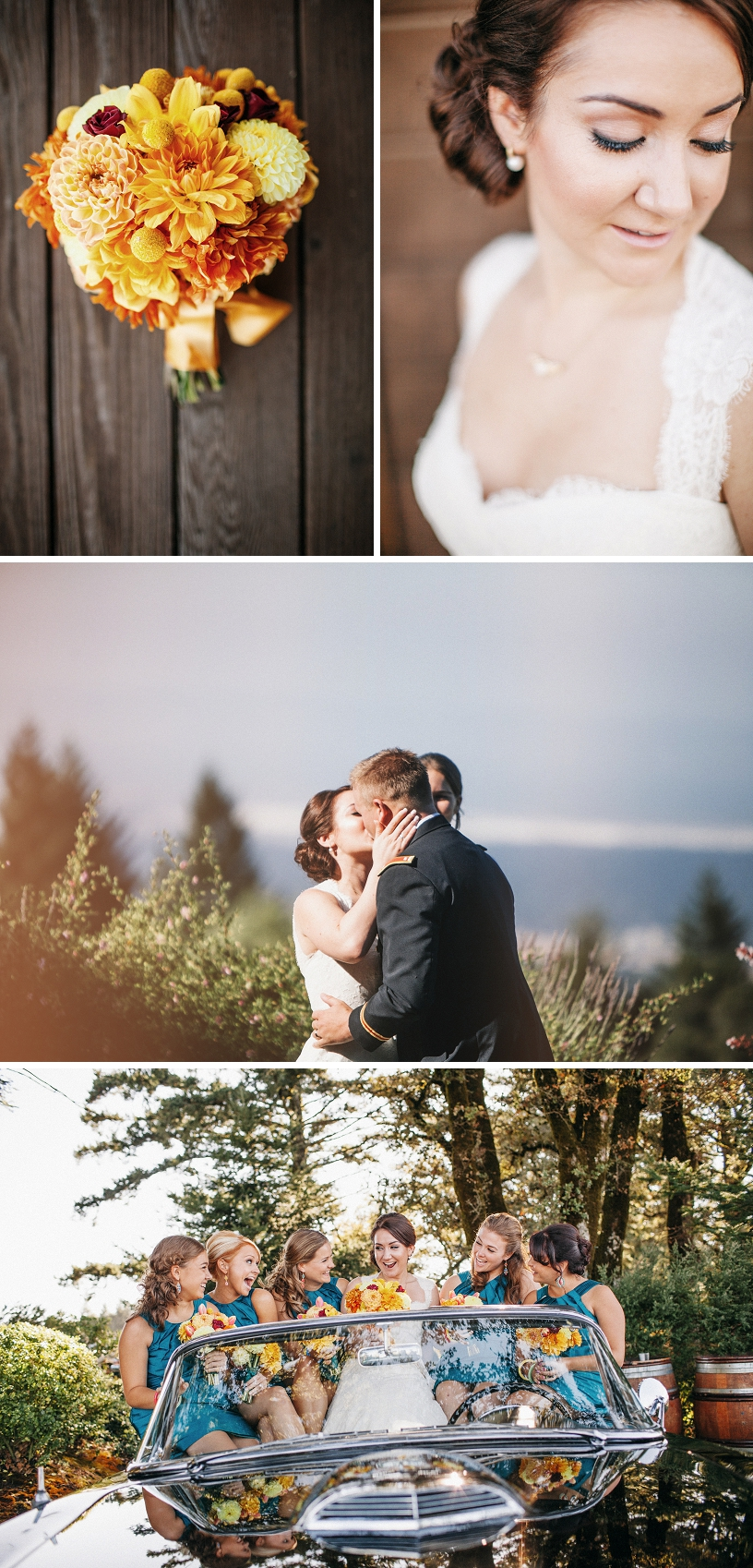 Colorful comic book themed wedding at the Thomas Fogarty Winery