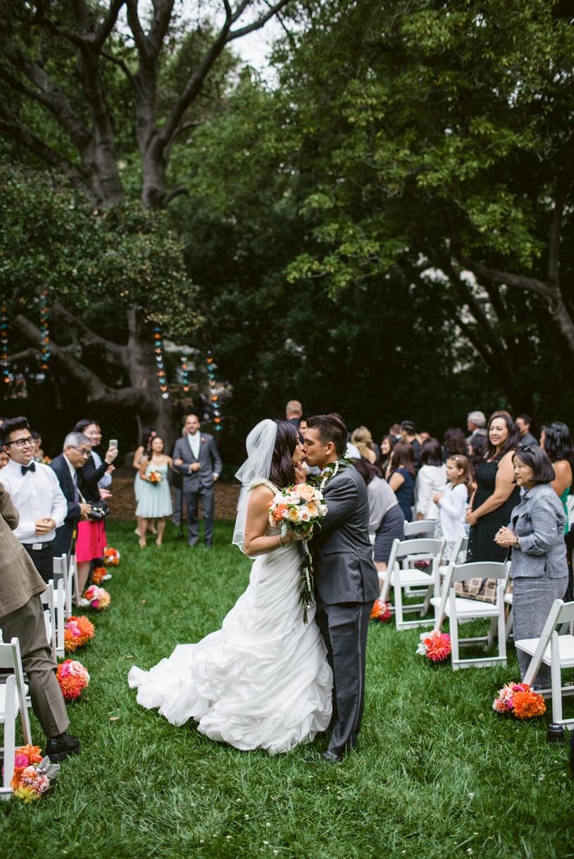UC Berkley Faculty Club Wedding  Ceremony