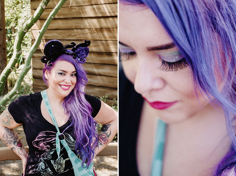 Ursula Disney inspired make-up
