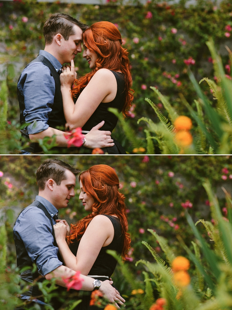 Adorable candid engagement session in San Fancisco