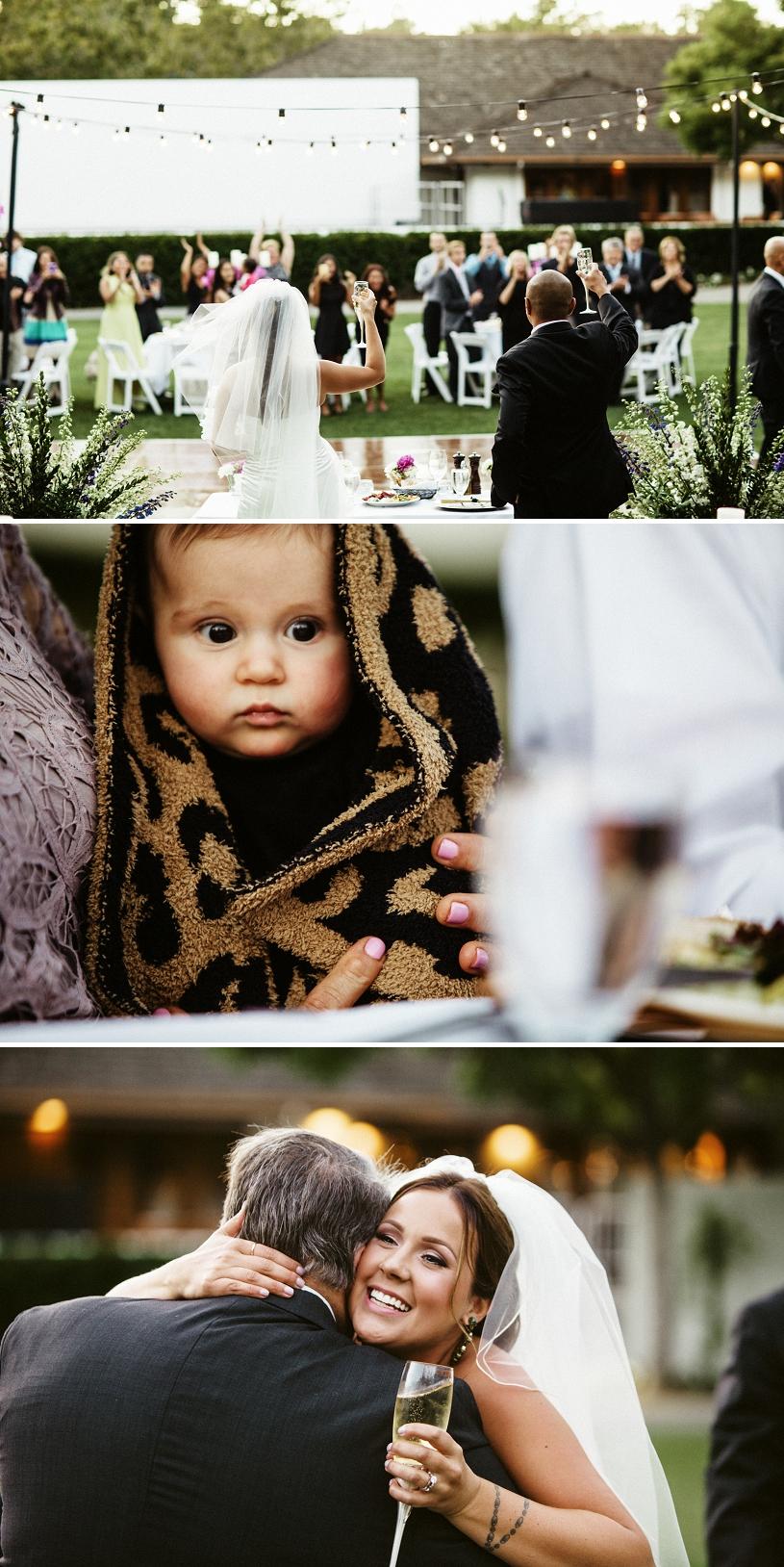 outdoor wedding reception at wente vineyards in livermore
