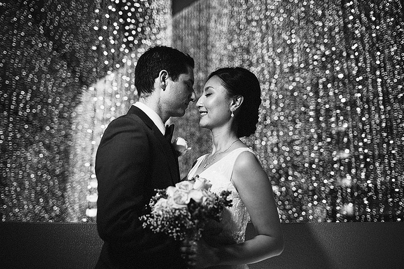 Glitzy and glamorous Winter wedding in San Francisco
