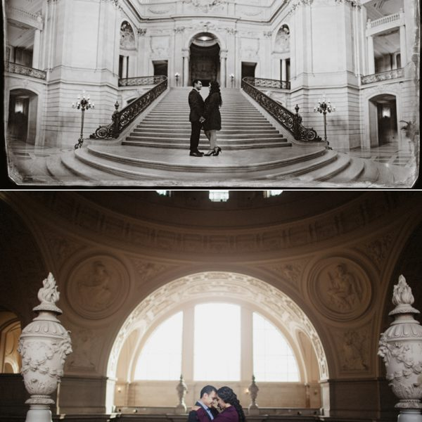 Maralette + Jose | An Empty City Hall and a moment under a bridge