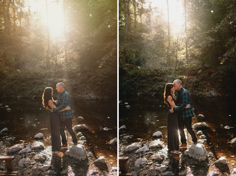 Big Sur River Inn engagement and wedding photography