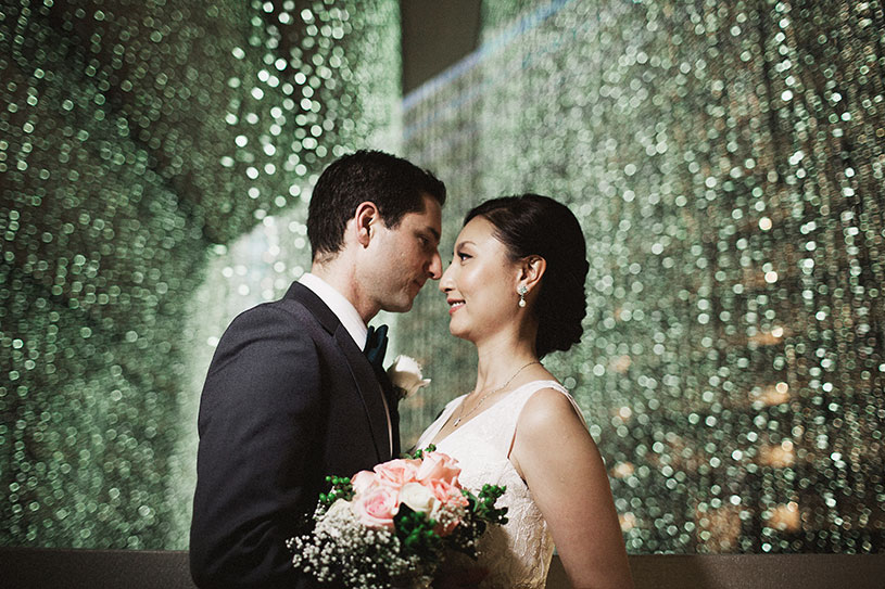 a glamorous winter wedding at the hyatt on the embarcadaro in san francisco
