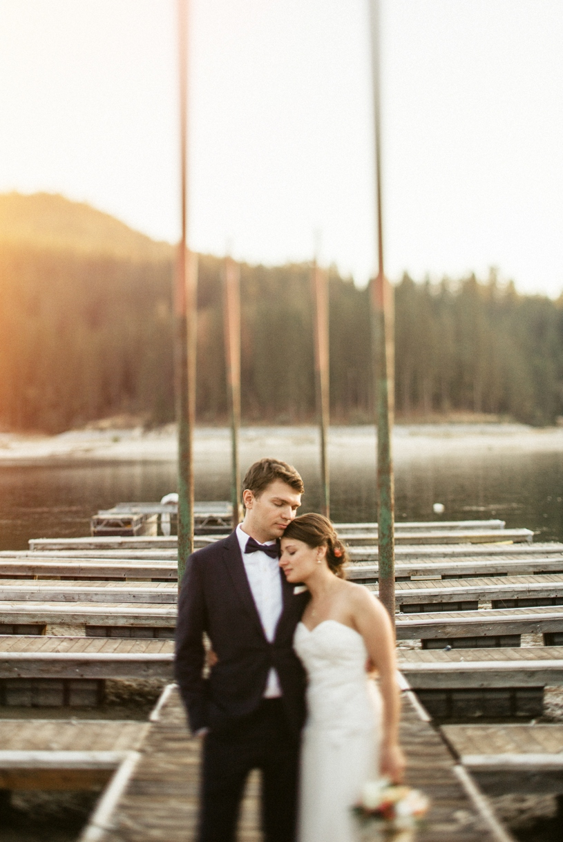 summer elopement at bass lake