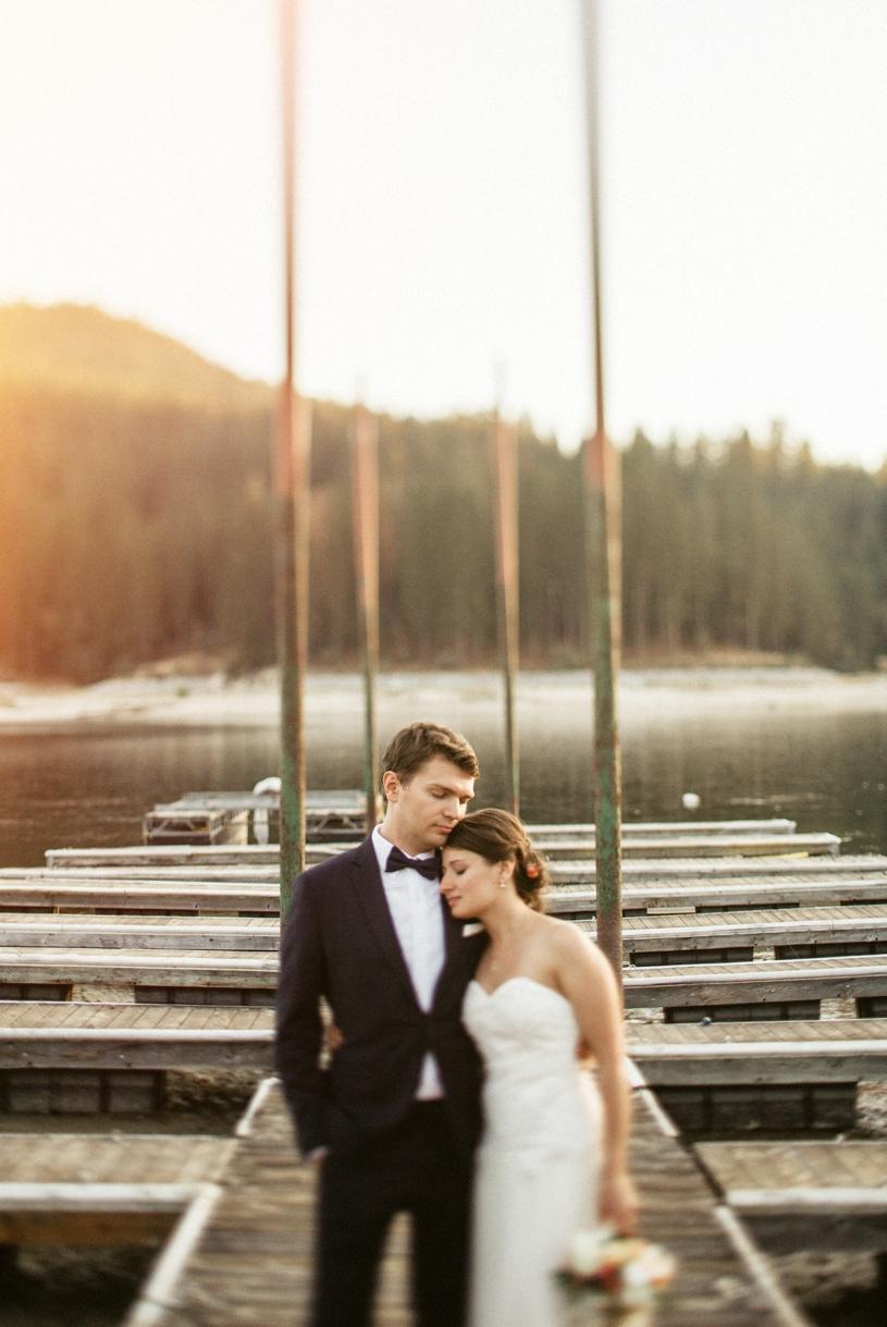 summer elopement at bass lake