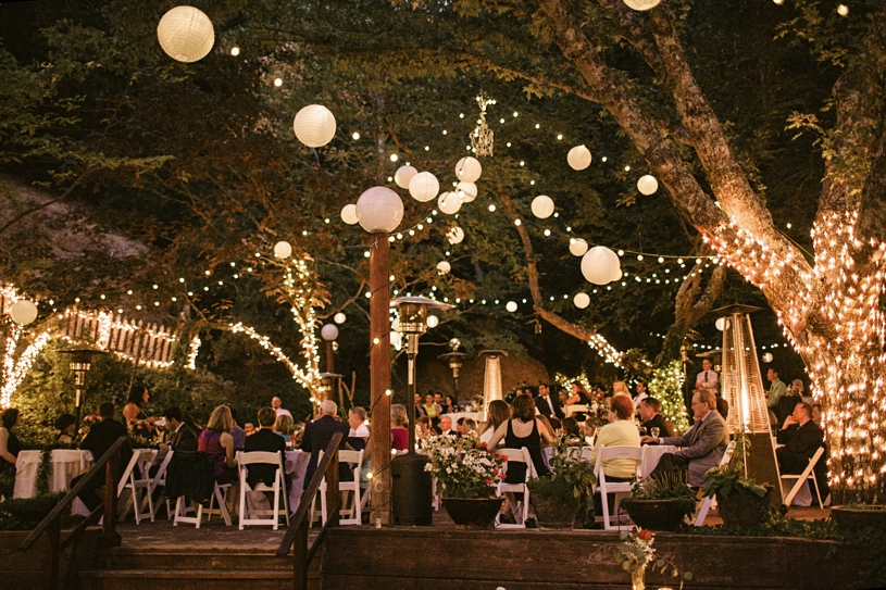 wedding reception at the wildwood acres resort