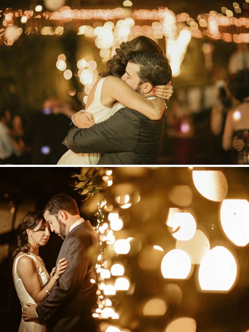 romantic twilight wedding at the wildwood acres resort