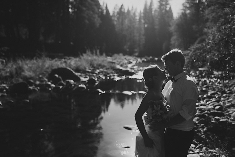Whimsical elopement in Yosemite
