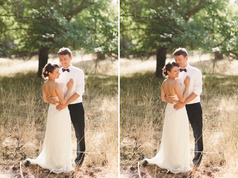 Sweet Summer yosemite wedding