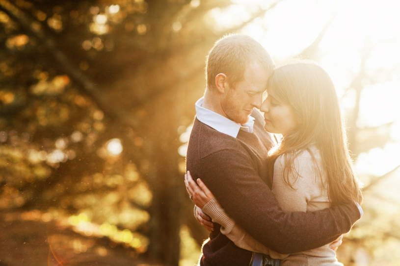 sunset engagement at the presidio in san francisco by heather elizabeth photography