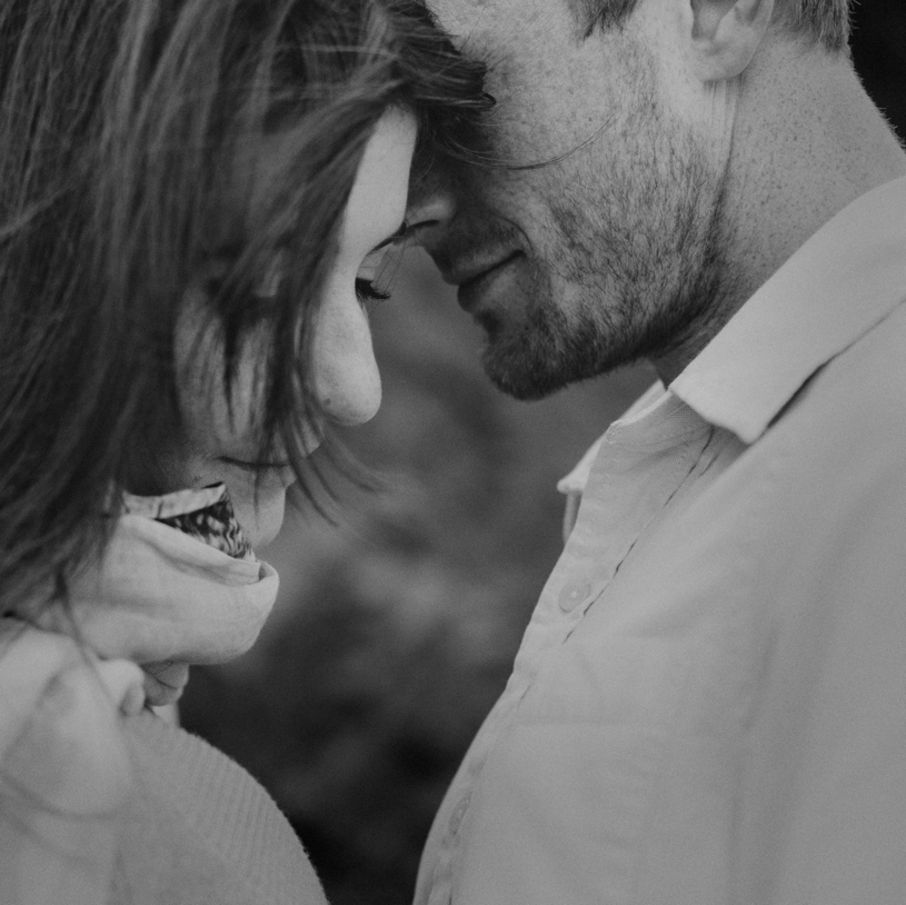 intimate bernel heights san francisco engagement by heather elizabeth photography