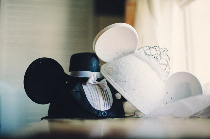 DIY disney bride and groom ears