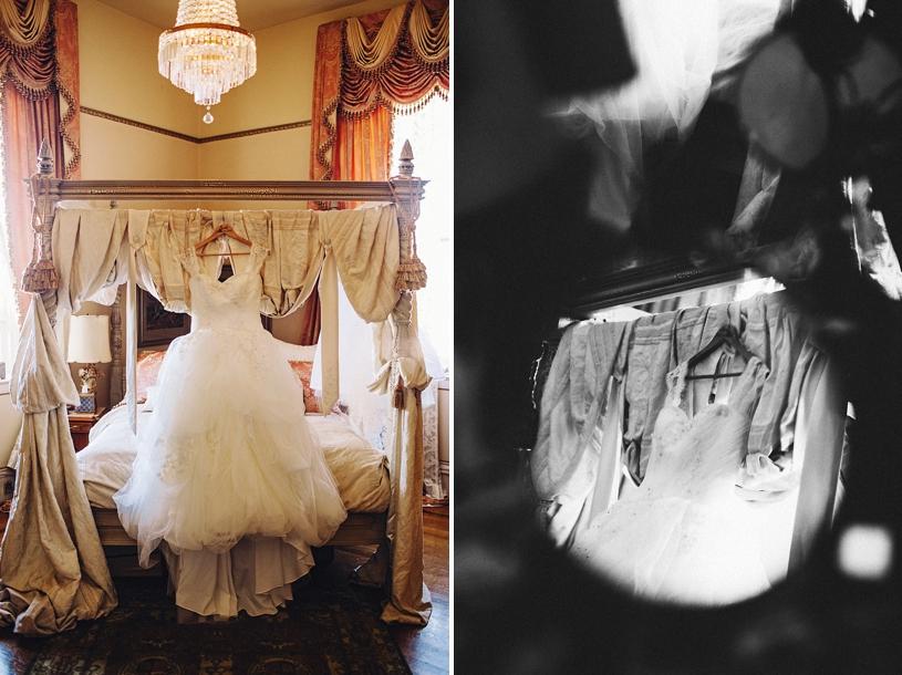 Vera Wang wedding gown for Disney wedding