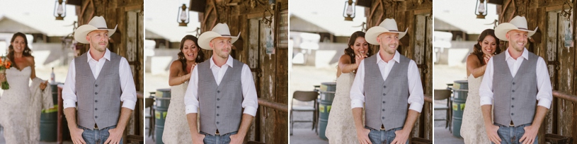 first look at a farm house wedding by heather elizabeth photography