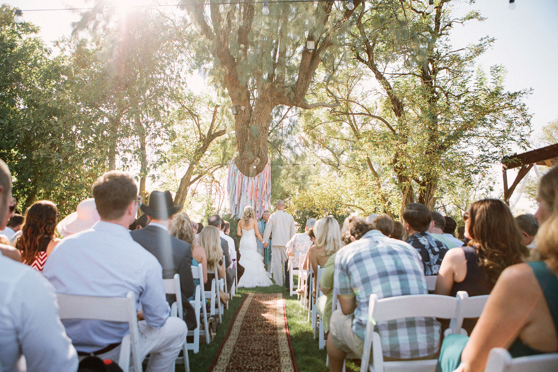 A gypsy traveller bohemian Free people wedding at a bar in Woodland California by Heather Elizabeth Photography