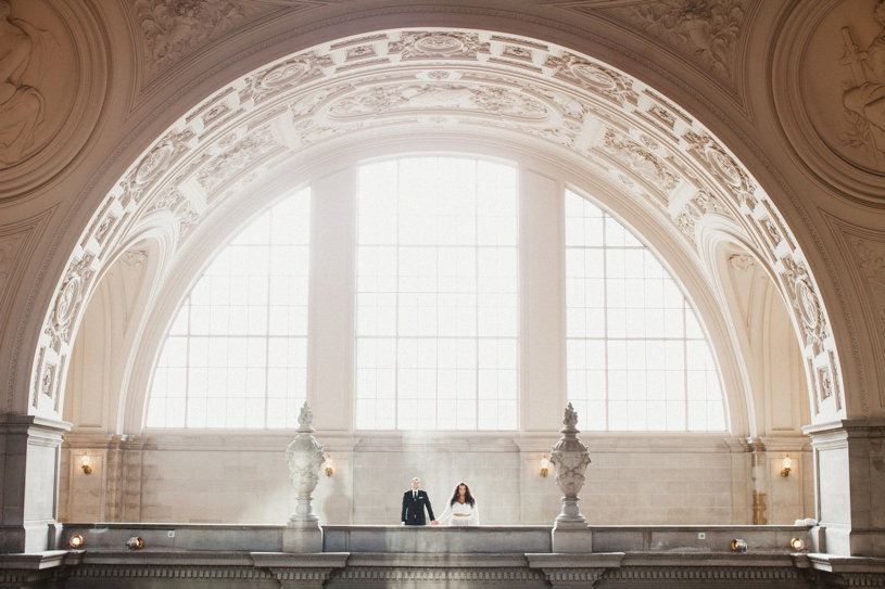 Real wedding at the san francisco city hall by heather elizabeth photography