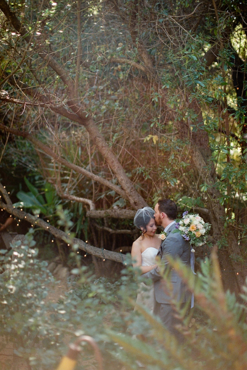 bride and groom hipster couple at the holly farm by Heather Elizabeth Photography
