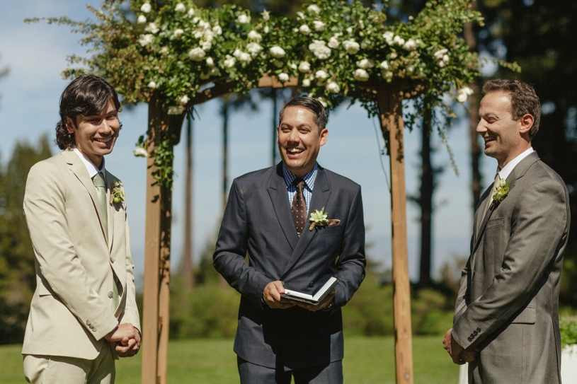 two groom same sex wedding at the mountain terrace by heather elizabeth photography