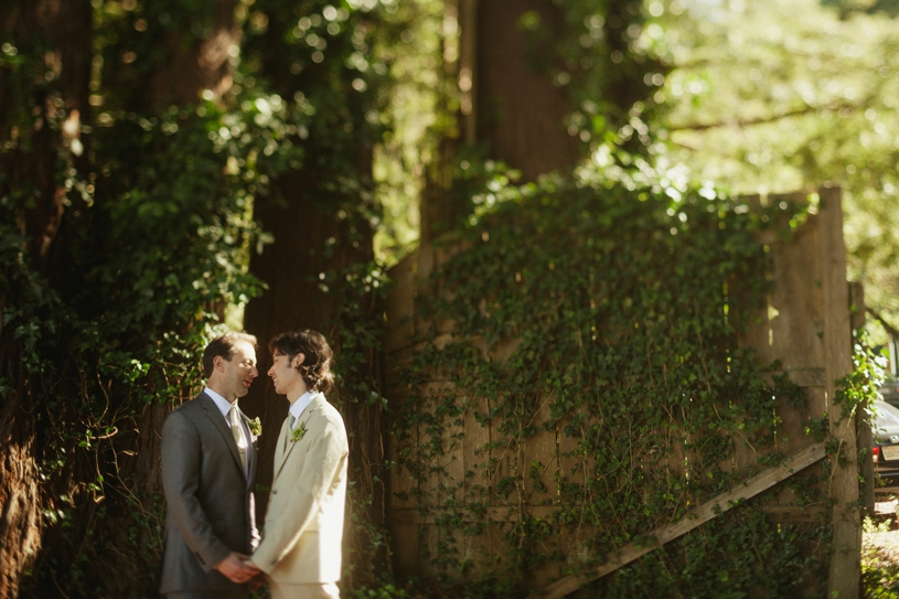 tilt shift portrait of a two groom same sex couple at the mountain terrace by heather elizabeth photography