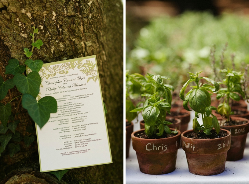 eco organic gardening wedding at the mountain terrace by heather elizabeth photography