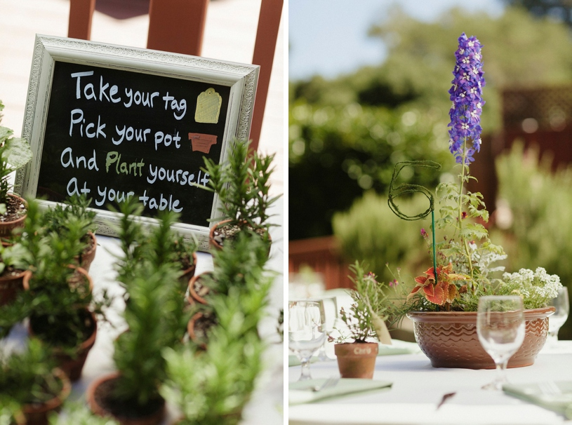 eco friendly garden organic wedding inspiration at a gay wedding at the mountain terrace in woodside california by heather elizabeth photography
